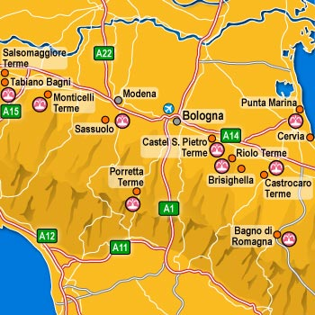 alberghi Castrocaro Terme Terme dell\'Emilia Romagna: hotel, pensioni ...