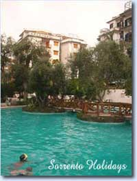 Apartamenti-ville in affitto<br> 4 stelle in Sorrento - Apartamenti-ville in affitto<br> Sorrento Holidays (B208)