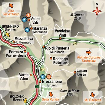 Alberghi vandoies val d 39 isarco hotel pensioni ostelli for Pensioni a bressanone
